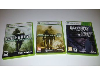 - Call of Duty 3-Pack XBOX360 -