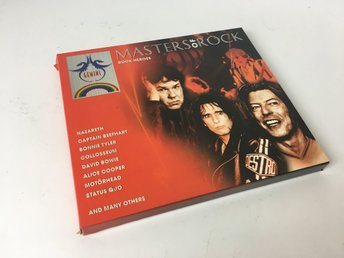 CD-skiva - Masters of Rock - Rock Heroes - 2 CD