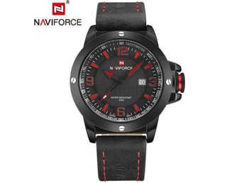 Klocka Herr New Mens Watches Top Brand Red