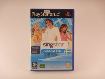 Playstation 2 / Ps2   --  Singstar Svenska Hits  --   PAL