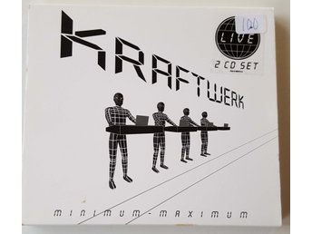 KRAFTWERK -  MINIMUM -MAXIMUM    2 CD SET