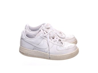 Nike, Sneakers, Strl: 40, Nike Air Force 1, Skinnimitation, Vit