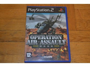 Operation Air Assault Playstation 2 PS2
