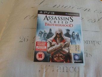 Assassins Creed Broterhood PS3 - Arvidsjaur - Assassins Creed Broterhood PS3 - Arvidsjaur