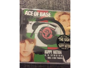 Ace Of Base - Happy Nation US version (CD 1993)