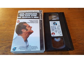 One flew over the cuckoo's nest / Jack Nicholson /  VHS 1991