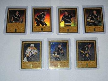 1995-96 Donruss Elite Mario Lemieux series Set /1066 7/7 - Tingsryd - 1995-96 Donruss Elite Mario Lemieux series Set /1066 7/7 - Tingsryd
