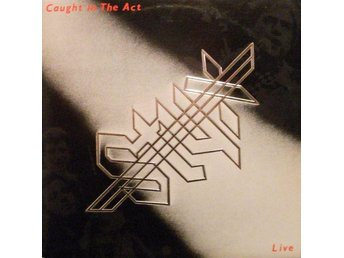 Styx – Caught in the act, live, Lp dubbel vinyl