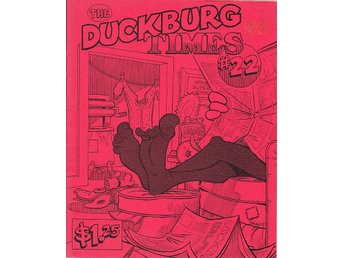 The Duckburg Times nr 22 (1987) / VF/NM / toppskick