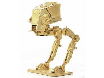 3D Pussel Metall - Star Wars - Starwars - AT-ST GULD