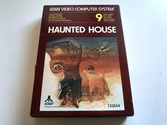 ATARI 2600 - Haunted House CX2654 Inkl låda & manualer (obruten förpackning) (1)