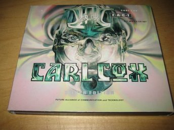 CARL COX - F.A.C.T. (SILVER EDITION). DIGIPAK. DUBBEL-CD. LTD.