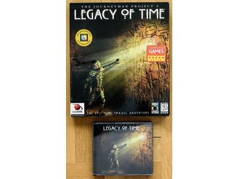 The Journeyman Project 3 - Legacy of Time PC CD
