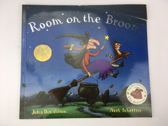 Room On The Broom Julia Donaldson Alex Scheffler ISBN 9780333903384 Engelska