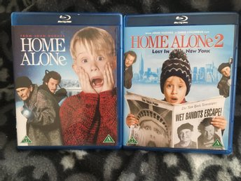 Home Alone 1 & 2 - Blu-Ray