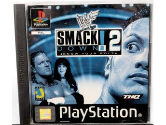 WWF SmackDown! 2: Know Your Role - PS1 - PAL (EU)