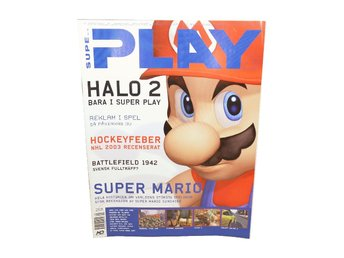 Super Play Nr 9 2002 Super Mario / Halo 2