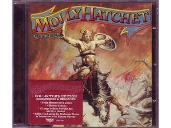 MOLLY HATCHET-Ny CD Collector´s Edition+4 Bonus-Beatin` The Odds-Rem & Reloaded