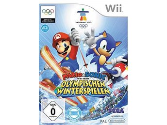 Mario & Sonic / Olympic winter games - Wii