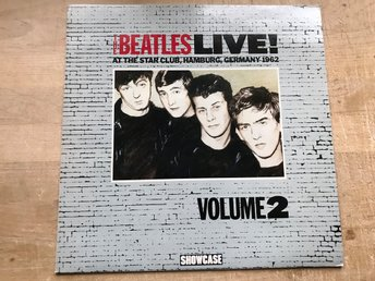 BEATLES THE - AT THE STAR CLUB, HAMBURG LIVE! VOL2. LP