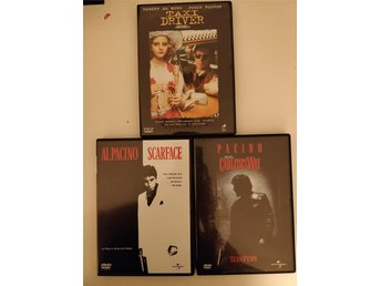Taxi Driver / Scarface / Carlitos Way