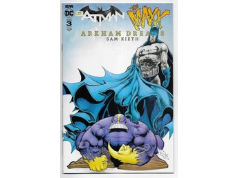 Batman/The Maxx: Arkham Dreams # 3 Cover B NM Ny Import