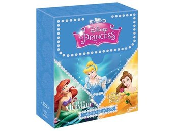 Disney Prinsess Box 2016 (3 Blu-ray)