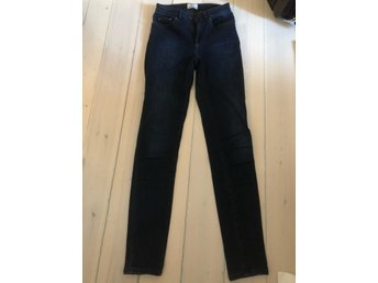 Acne - dark denim - size 26/32