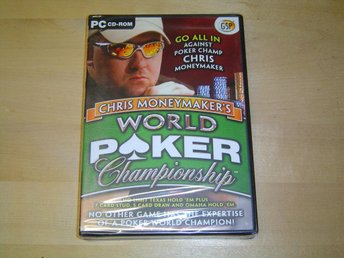 WORLD POKER CHAMPIONSHIP PC SPEL *NYTT*