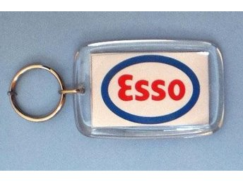 esso nyckelring 2 st