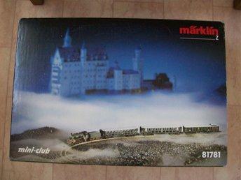 Märklin Miniclub 81781 Startsats med slottet - Lund - Märklin Miniclub 81781 Startsats med slottet - Lund