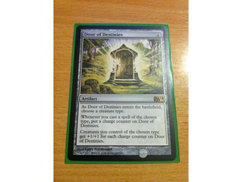Magic the Gathering, MtG kort, M14 - Door of Destinies NM