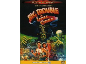 Big trouble in little China. 2-disc - John Carpenter - Kurt Russell - Malmö - Big trouble in little China. 2-disc - John Carpenter - Kurt Russell - Malmö