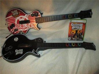 Guitar hero 3 Legends of Rock 2 st gitarrer - Matfors - Guitar hero 3 Legends of Rock 2 st gitarrer - Matfors