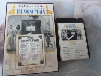THE SWING YEARS,   KASSETTBAND, 8-TRACK