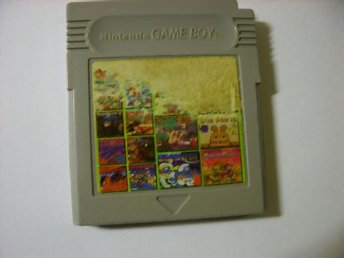 GameBoy Spel.