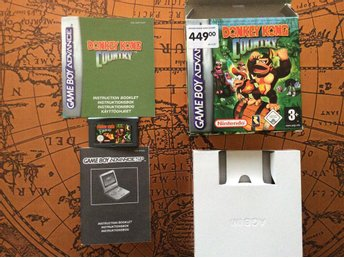 Donkey Kong Country (komplett) till Gameboy Advance, Fri Frakt!