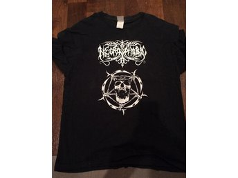 NECROPHOBIC T-SHIRT LARGE GILDAN
