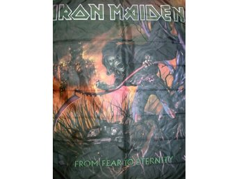 IRON MAIDEN From fear to eternity Flagga NEW!! - Mocejon (toledo) - IRON MAIDEN From fear to eternity Flagga NEW!! - Mocejon (toledo)