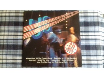 United Singers - U.S. Disco - 2LP Gatefold - 1979 - M-/VG+