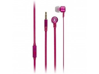 KIT FRESH Hörlur Ribbon 3,5mm In-Ear Rosa