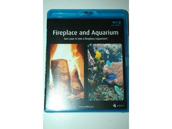 Fireplace and aquarium (Blu-ray)