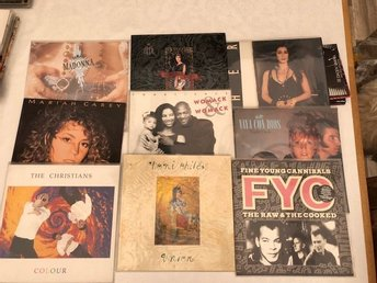 Cher, FYC, The Christians, Madonna, Toni CHilds, Mariah Carey, Vaya Con Dios