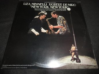 New York, New York - Minnelli/De Niro - 2LP - 1977