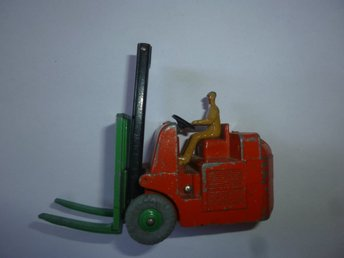 Dinky Toys Forklift Truck Coventry Climax Meccano England