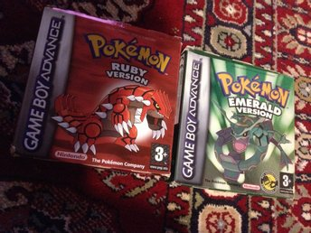 Pokemon emerald + Pokemon ruby