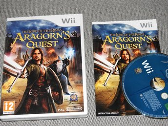 Wii Spel - The Lord of the Rings Aragorn's Quest