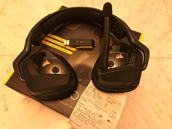 Corsair VOID PRO RGB Wireless 7.1, Gaming Hörlurar
