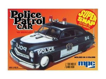 MPC 1/25 Mercury Patrol Car, snap