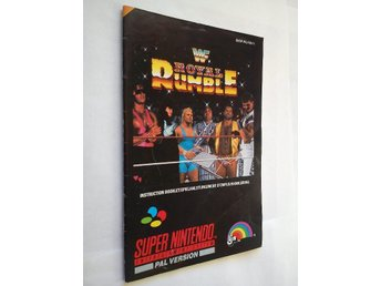 SNES - Manualer: WWF Royal Rumble (Endast manual)
